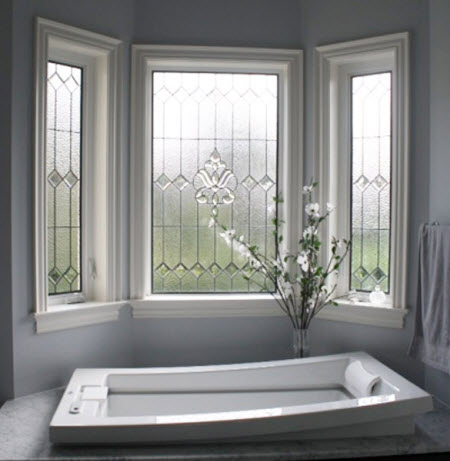 Stained glass bathroom window designs you 39 ll love for Bathroom window designs
