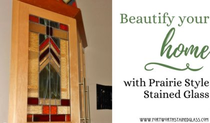 prairie style stained glass fort worth